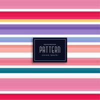 elegant colorful stripes vector pattern