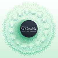 colorful mandala decoration background design