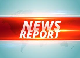 diseño de fondo del concepto de informe de noticias