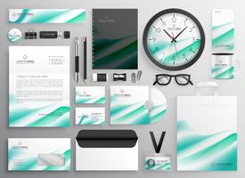 modern business stationery set for your brand identity