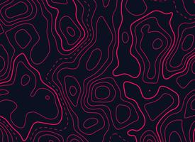 topographic map design in red color