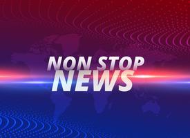Non-Stop-Nachrichten-Konzept Hintergrund