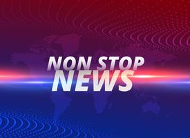 non-stop nieuws concept achtergrond