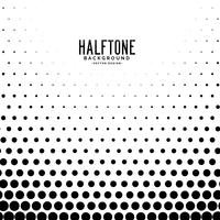 stylish circle halftone pattern background