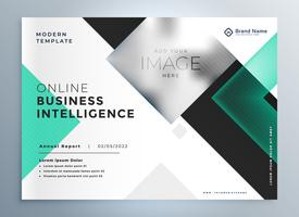 elegant professional business brochure presentation template
