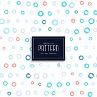 circles soft pattern design background