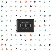 cute small triangle pattern background