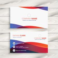 modern colorful business card design