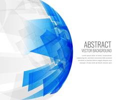 abstract blue 3d sphere background