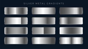 silver eller platina gradienter inställda