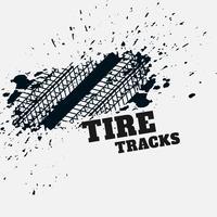 Grunge Reifen Mark Eindruck Hintergrund