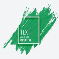 abstract green brush stroke background