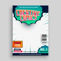 comic book cover mall design