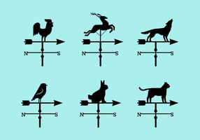 Weather Vane Collection Vector