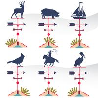 Weather Vane Vector Pack