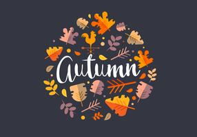 Autumn Season Illustration