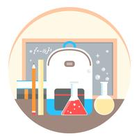 Vector Chemistry Science Illustration