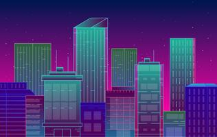 Vector City Landscape Illustration