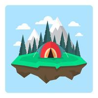Camping Landscape