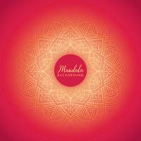 Dekorativer Mandalahintergrund