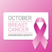 Breast-cancer-awareness-ribbon-background