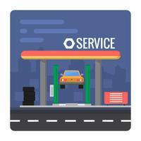 Service automobile