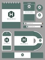 Awesome Luxury Hotel Corporate Identity Vectors
