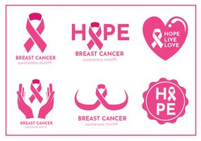 Breast Cancer Vector Pack