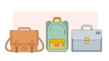 Handtaschen Vektor