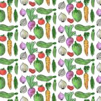 Vector Watercolor Seamless Pattern
