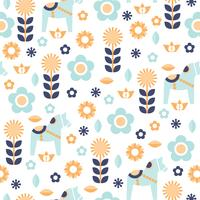 Pastel Colors Pattern With Hygge