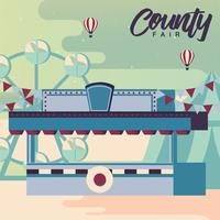 County Fair Design Vector