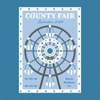 Awesome County Fair Vectores