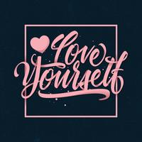 Love-yourself-typography