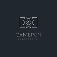 Minimalistic Photographer Logo Vector