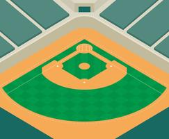 Illustration du parc de baseball