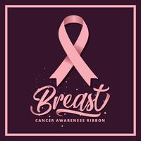 Breast Cancer Awareness Ribbon