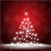 Sparkle Christmas tree background