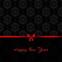 Damask happy new year background