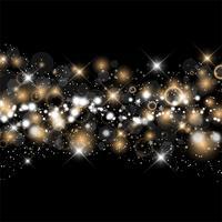 Natal e ano novo fundo estrelado