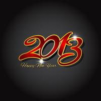 Happy new year on carbon fibre