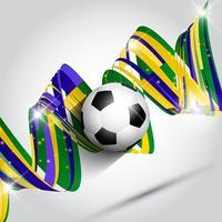 Fundo abstrato de futebol ou futebol