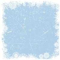 Grunge snowflake Christmas background