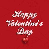 Fondo de día de San Valentín de grunge