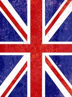 Grunge Union Jack background