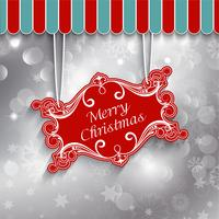 Christmas sign background