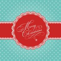 Christmas polka dot background
