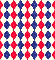 Jubilee colours argyle background