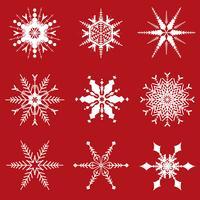 Christmas snowflakes designs