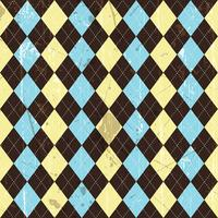 Grunge argyle background  vector